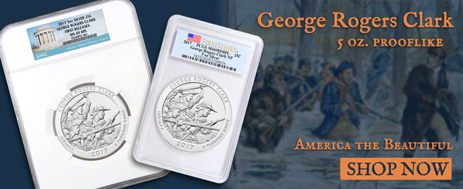 George Rogers Proof-Like Coins!