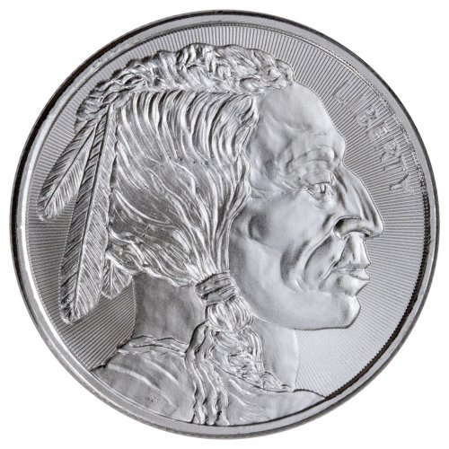 Elemetal Mint Buffalo Nickel Design 1 Oz Silver Round