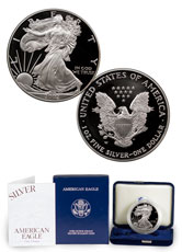 2002-W Proof American Silver Eagle (OGP)
