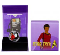 2016 Canada Star Trek - Uhura 1/2 oz Silver Colorized Proof $10 GEM Proof