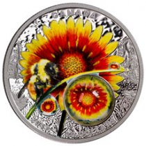 2017 Canada Mother Nature's Magnification - Beauty Under the Sun 1 oz Silver Proof $20 Coin GEM Proof OGP