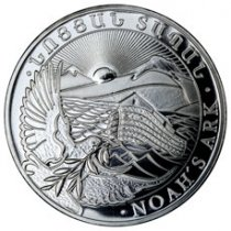 2018 Armenia 1 oz Silver Noah's Ark 500 Drams Coin GEM BU