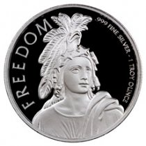 Statue of Freedom 1 oz Silver Round