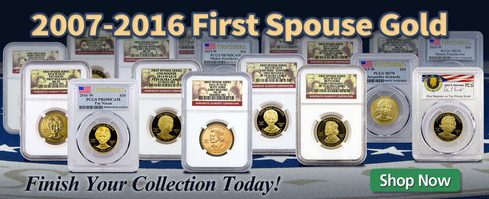 First Spouse Gold On-Sale Now!