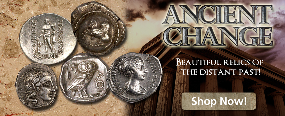 Museum Quality Ancient Coins at ModernCoinmart!