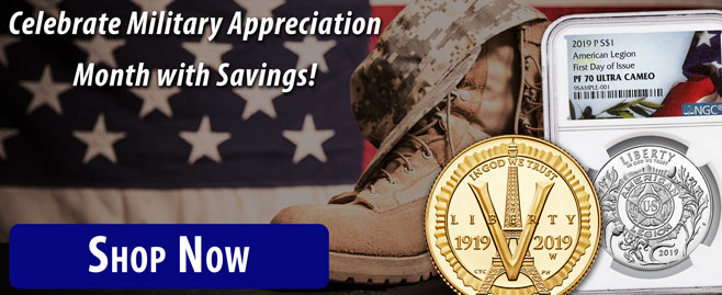 Celebrate Military Appreciation Month with Savings!