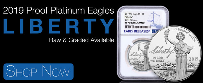 2019 Platinum Eagle Proofs