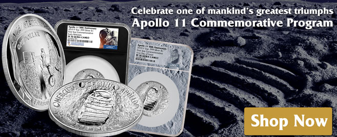 Shop 5-oz Silver Coin Commemoratives!
