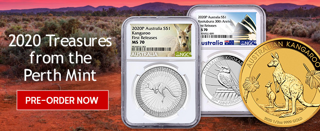 Shop 2020 Coins from Perth Mint from MCM!