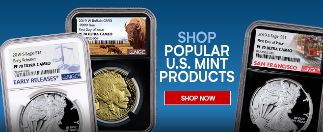 Buy Gold & Silver Online - Free, Fast Shipping - ModernCoinMart