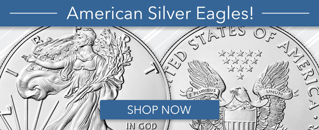 Shop Silver Eagles!