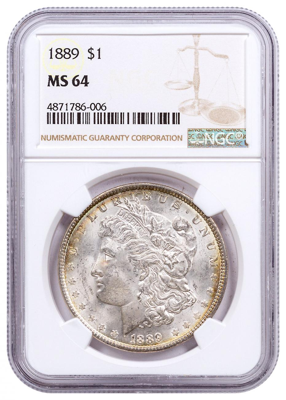 1889 Morgan Silver Dollar NGC MS64 CPCR 6006
