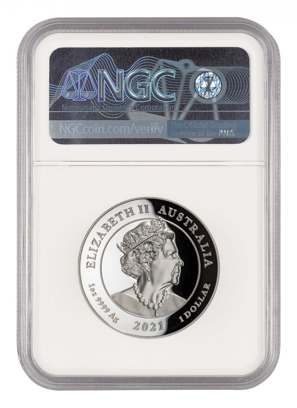 Winged Victory 2021 1oz Silver Proof High Relief Coin