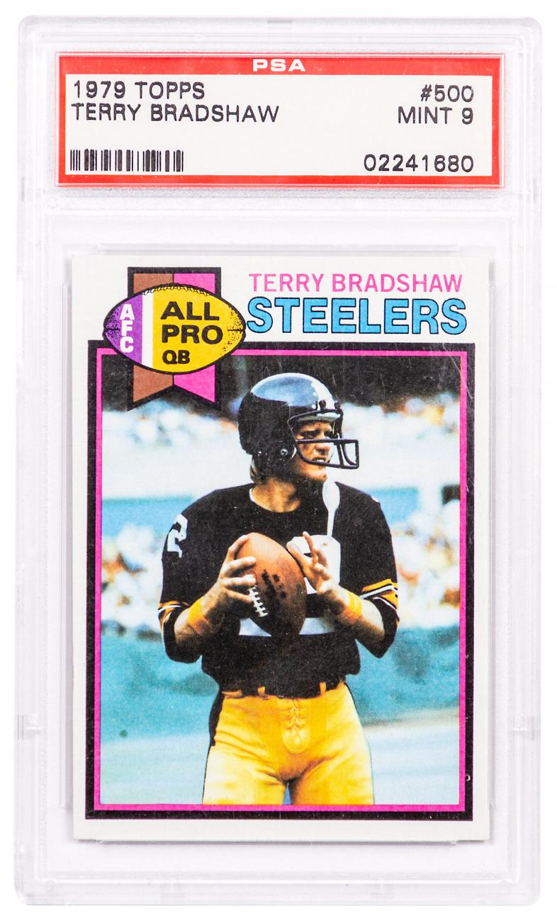 1979 Topps Terry Bradshaw PSA 9 (9th Year)