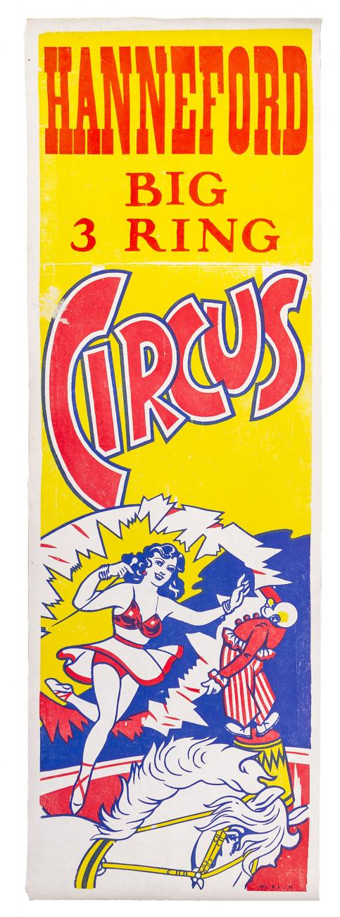 Hanneford 1960's Circus Posters