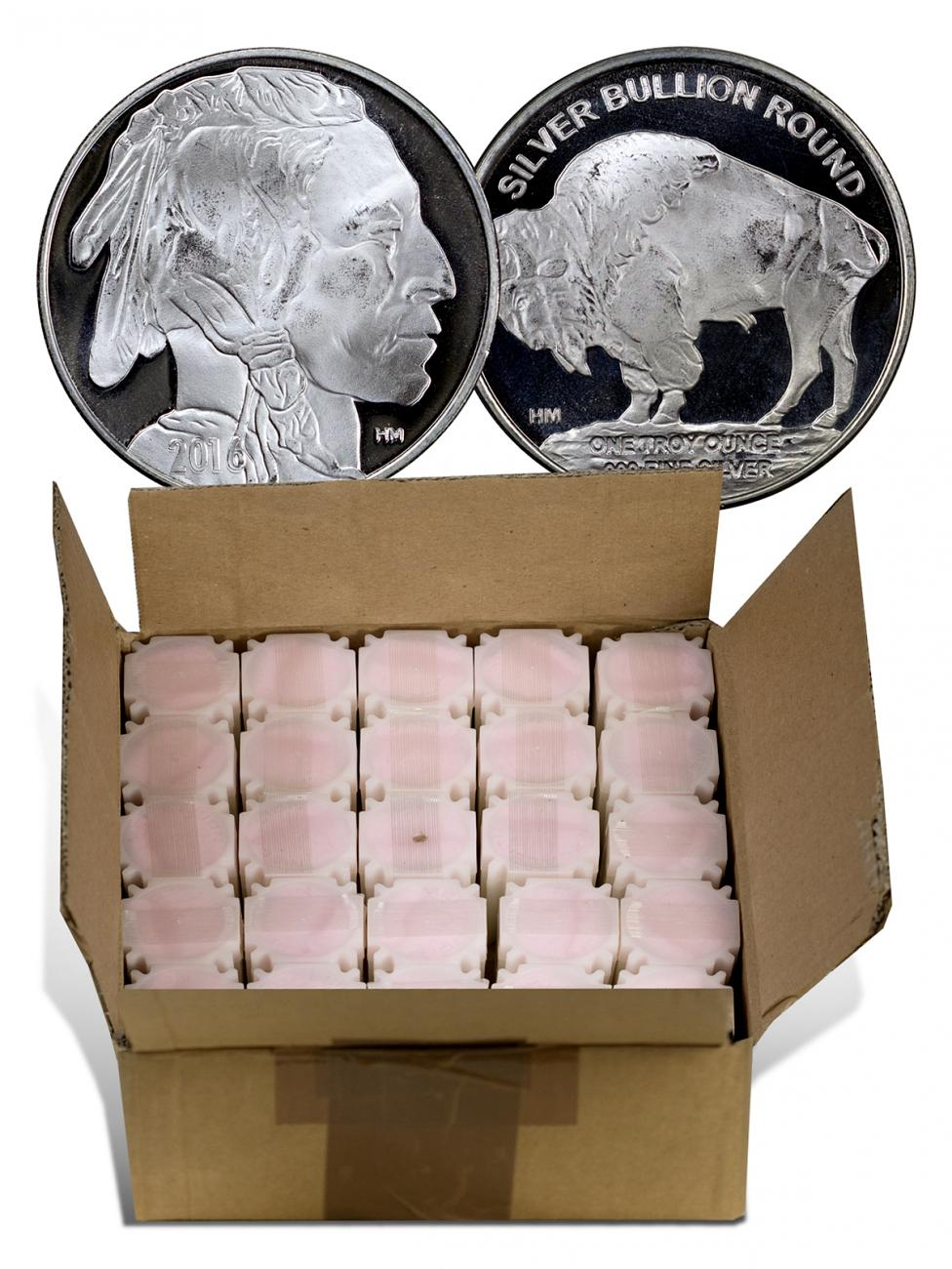 Monster Box Of 500 2016 Highland Mint Buffalo Nickel