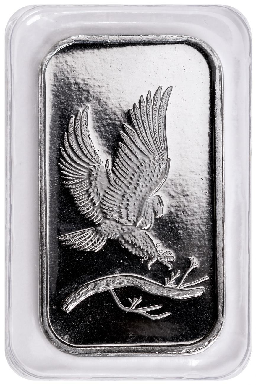 SilverTowne Mint Eagle Design 1 oz Silver Bar