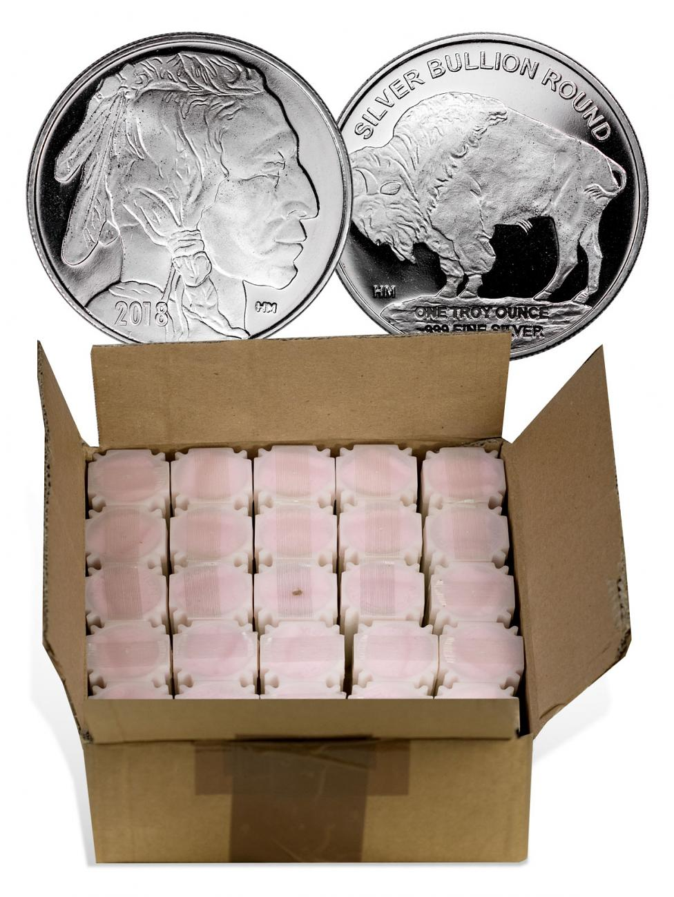 Monster Box Of 500 2018 Highland Mint Buffalo Nickel