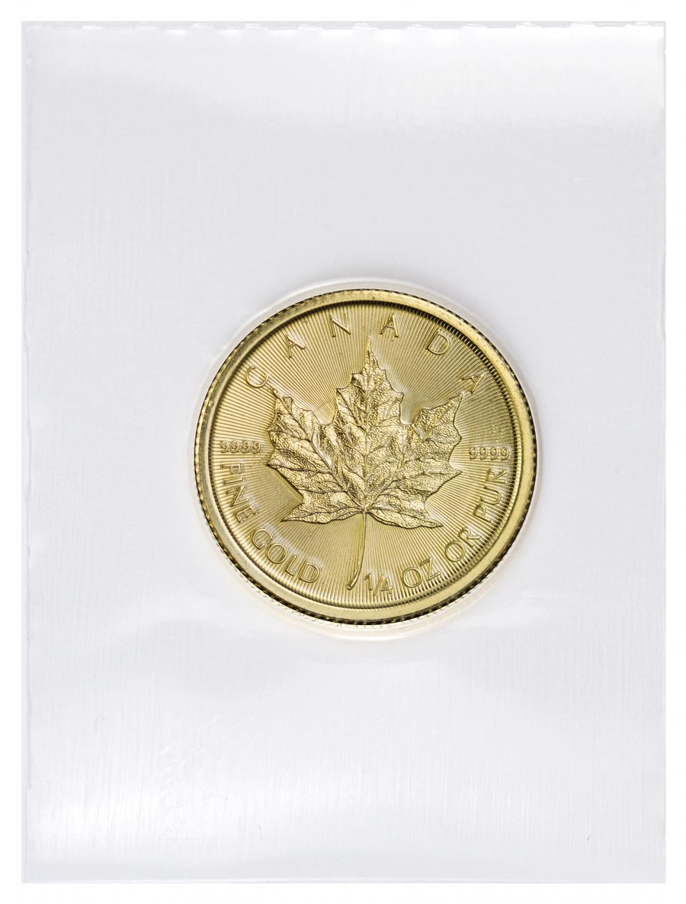 2018 Canada 1/4 oz Gold Maple Leaf $10 Coin GEM BU Mint Sealed