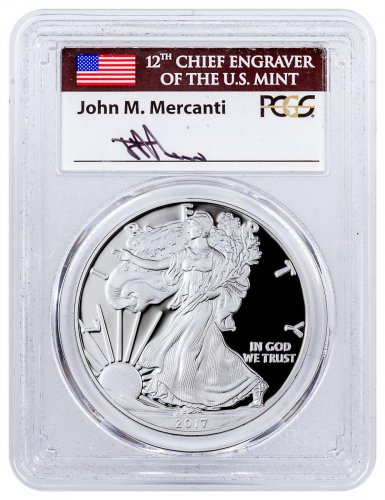 2017 S Proof Silver Eagle Congratulations Set 1 Of 1 000