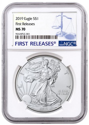2019 American Silver Eagle NGC MS70 FR
