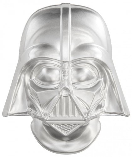 2019 Niue Star Wars - Darth Vader Ultra High Relief Helmet Shaped 2 oz Silver $5 Coin GEM BU OGP