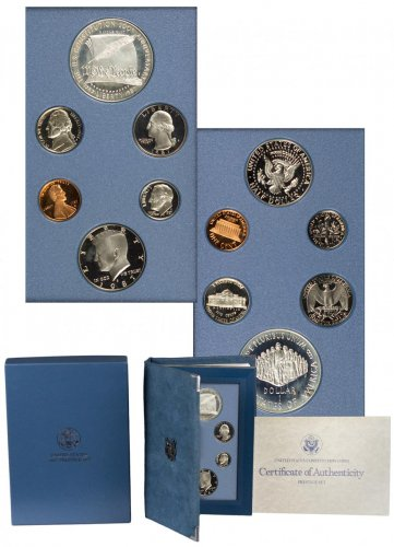 1987-S U.S. Prestige Proof Set GEM Proof OGP