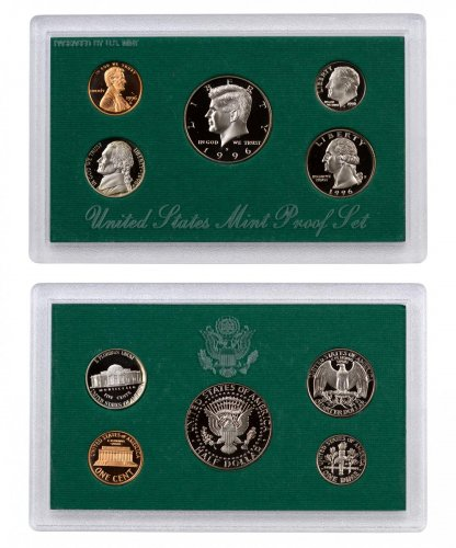 1996-S U.S. Proof Coin Set GEM Proof OGP