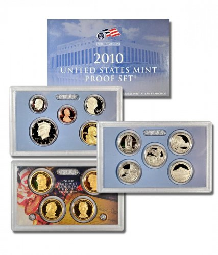 2010-S U.S. Proof Coin Set GEM Proof OGP