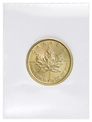 2018 Canada 1/2 oz Gold Maple Leaf $20 Coin GEM BU Mint Sealed