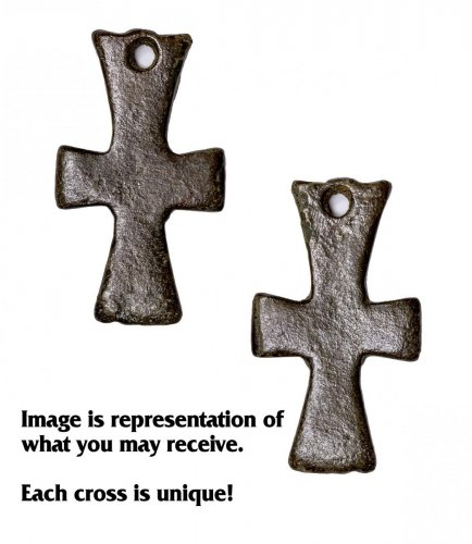 Ancient Byzantine Copper Cross c.AD 600-1100 (Standard Group)