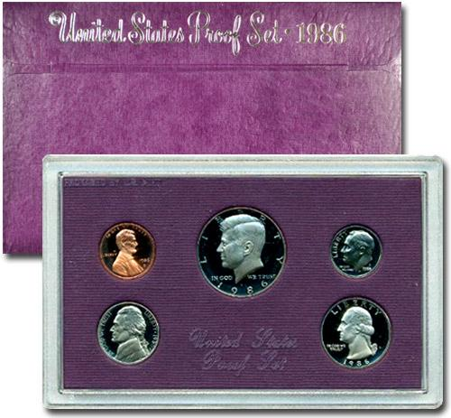1986-S United States Proof Set - GEM Proof (Original Mint Packaging)