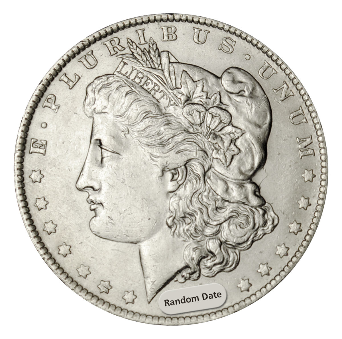 Random Date 1878-1904 Morgan Silver Dollar - Choice AU