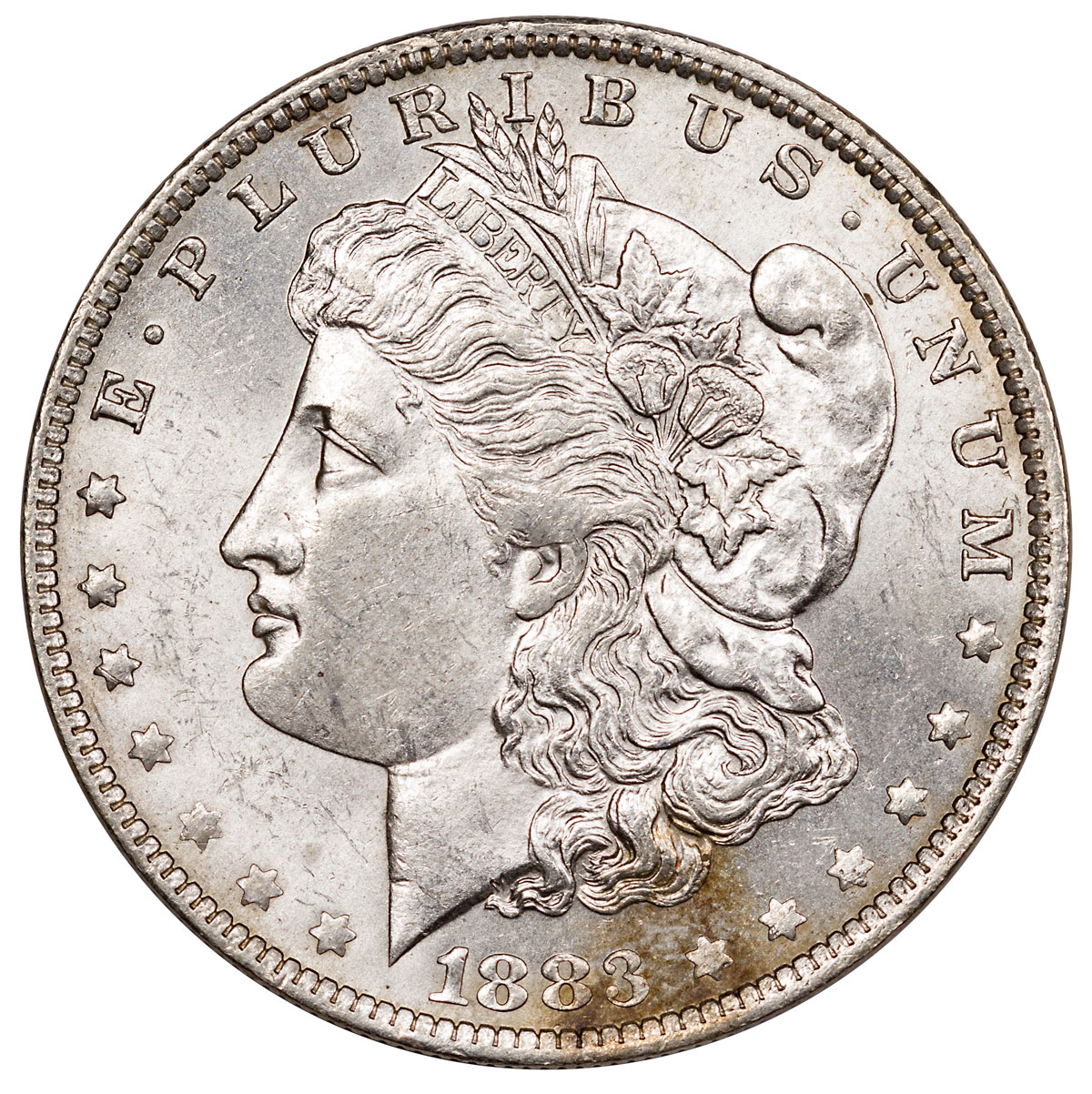 1883-O Morgan Silver Dollar AU