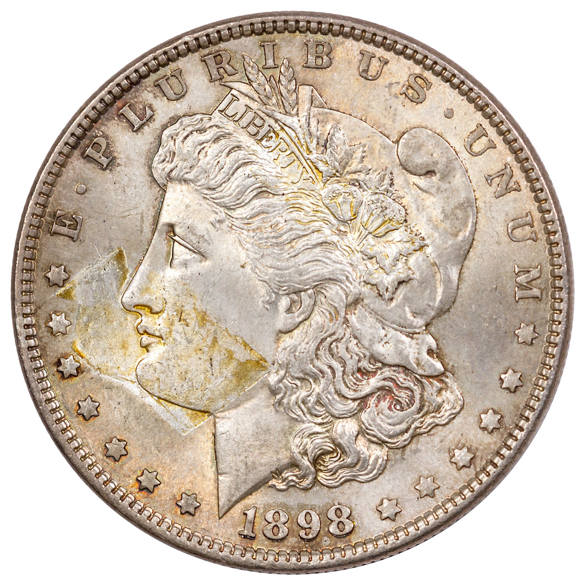 1898 Morgan Silver Dollar Original BU