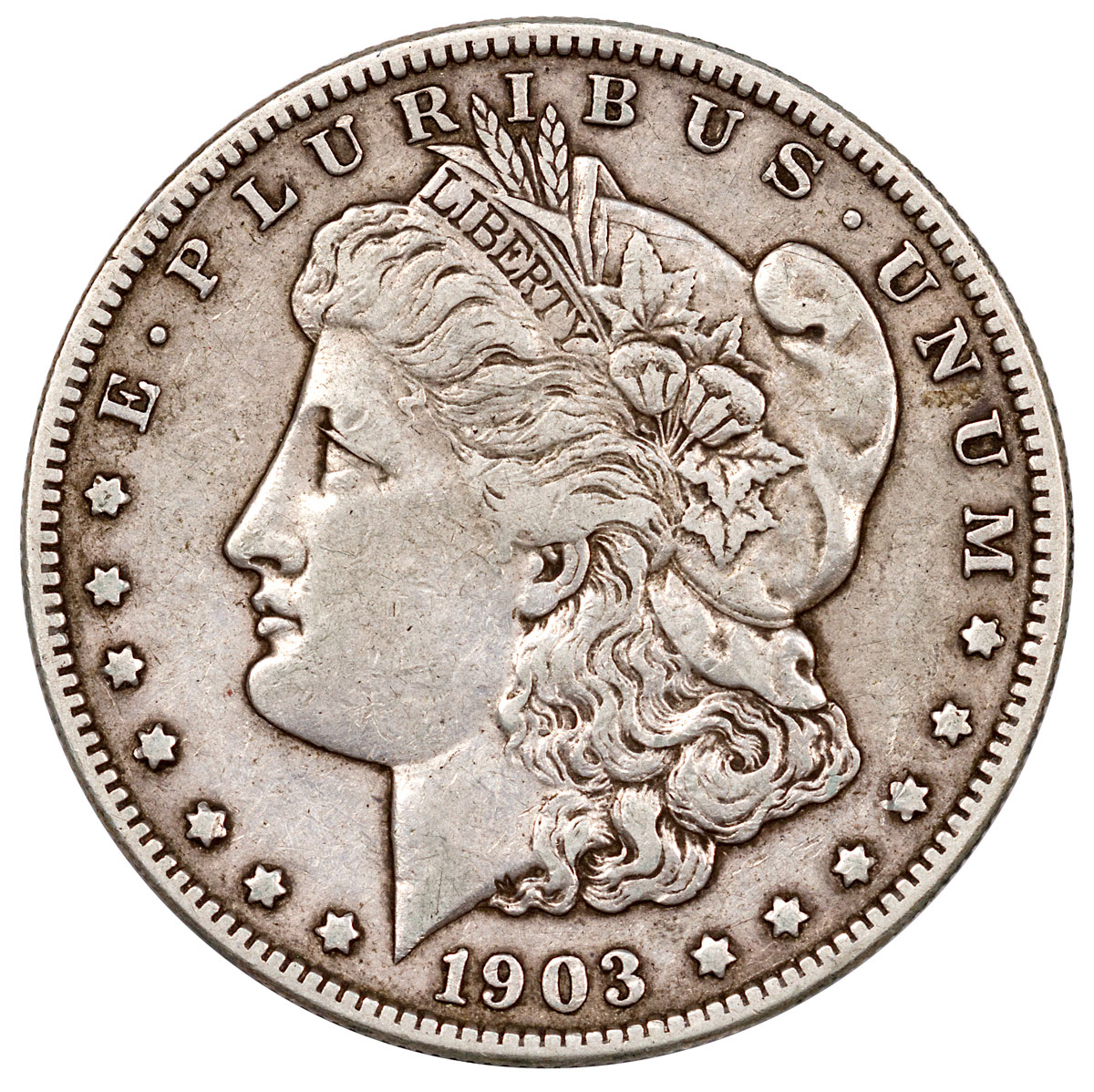 1903-S Morgan Silver Dollar XF