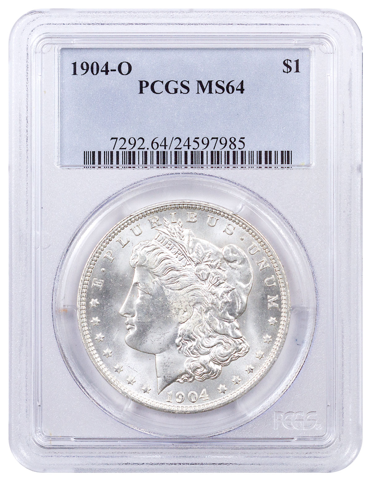 1904-O Morgan Silver Dollar PCGS MS64