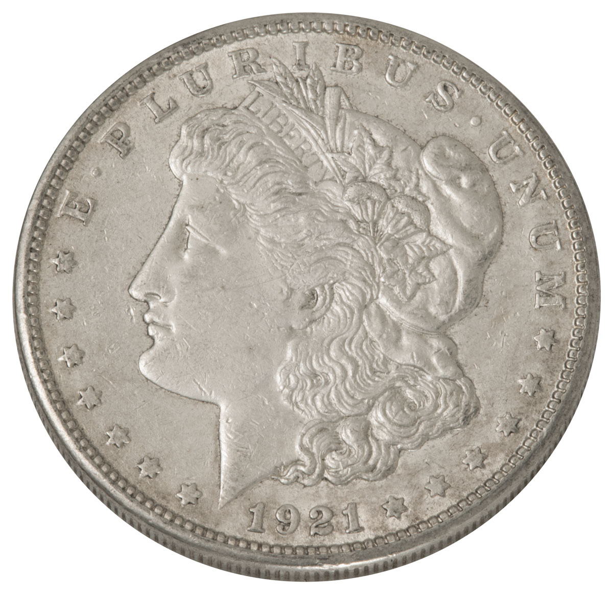 1921-S Morgan Silver Dollar XF