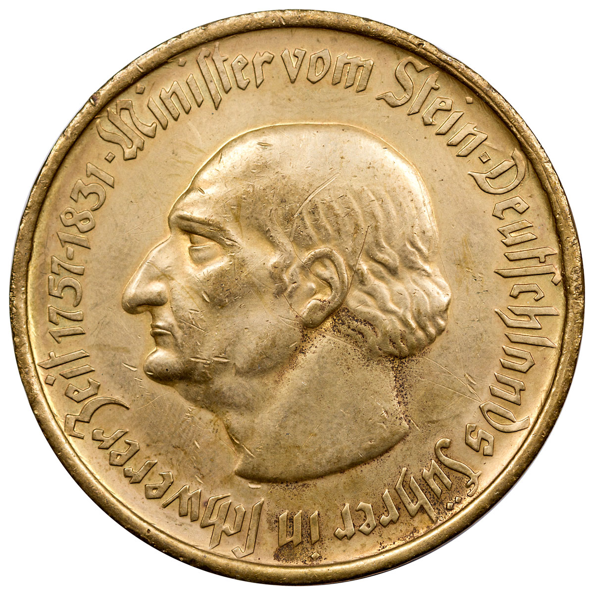 Germany, Weimar Republic 1923 10,000 Mark Notgeld Coin