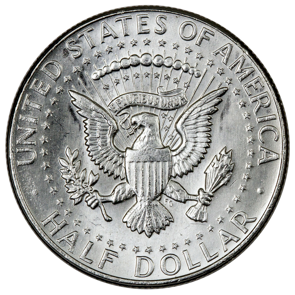 10 Face Value Roll - 20 Coins - 1964 Silver Kennedy Half