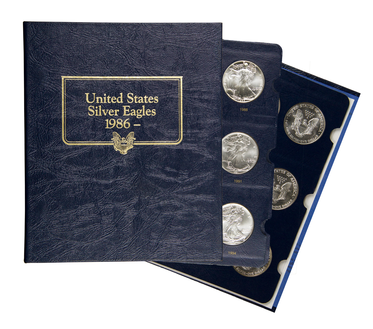 11 Coin Set Of 1986 1996 American Silver Eagles Gem Bu