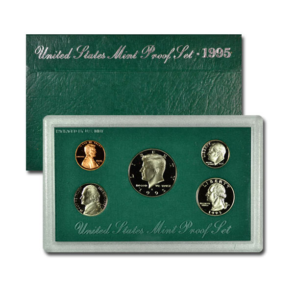 1995-S U.S. Proof Coin Set GEM Proof OGP