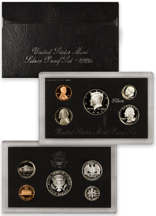 1995-S United States Silver Proof Set - GEM Proof (Original Mint Packaging)