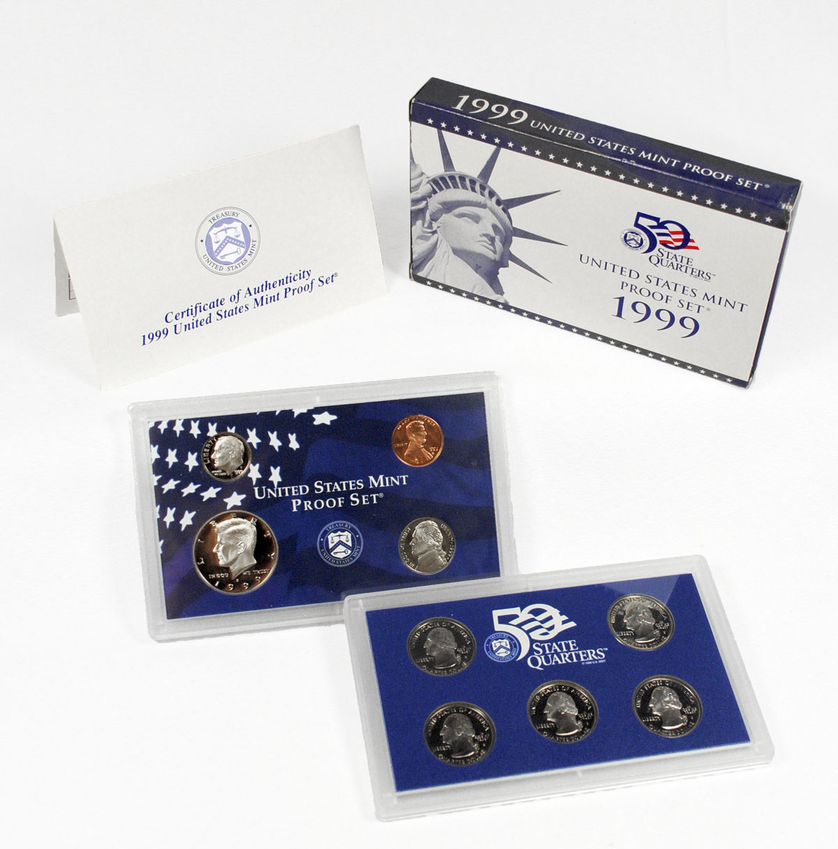 1999-S U.S. Proof Coin Set GEM Proof OGP