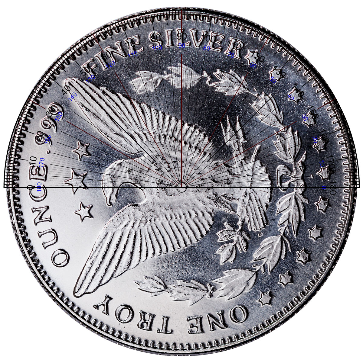 Highland Mint Morgan Dollar Design 1 Oz Silver Round 25
