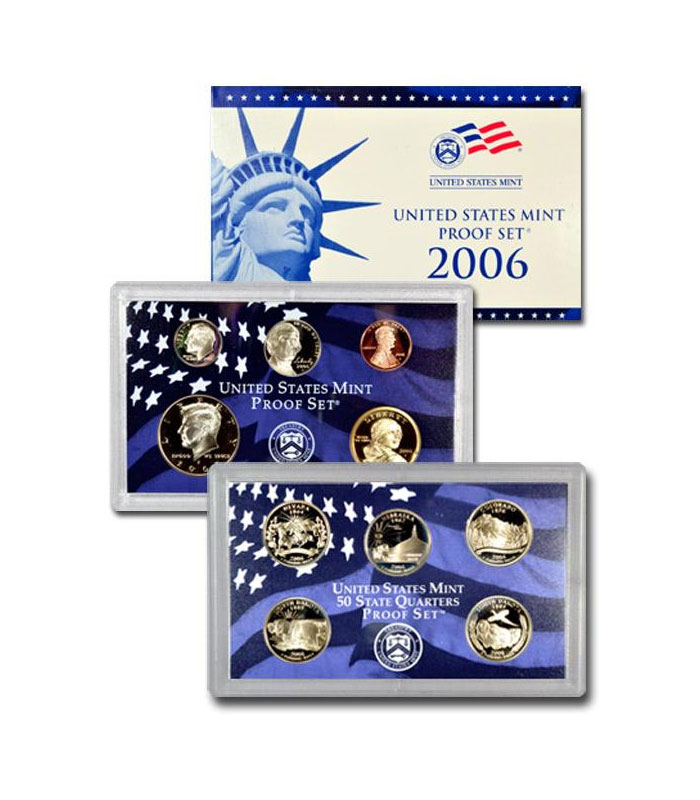 2006-S U.S. Proof Coin Set GEM Proof OGP