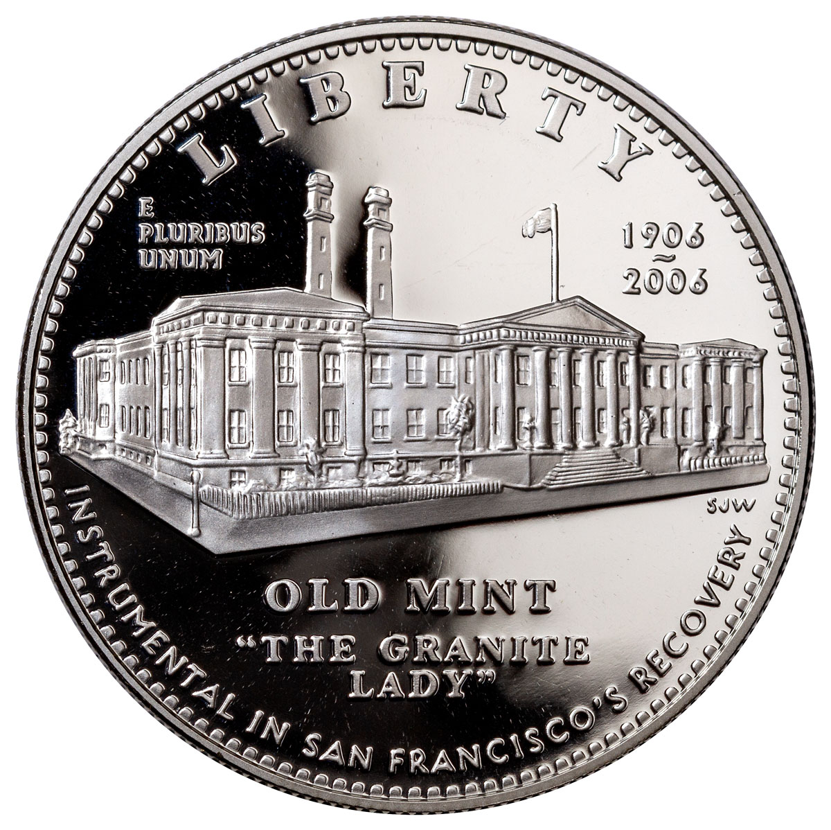 2006-S San Francisco Old Mint Commemorative Silver Dollar Proof