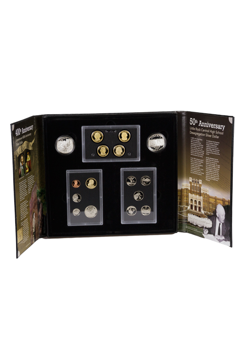 2007-S US Mint Legacy Proof Coin Set - GEM Proof (Original Government Packaging)