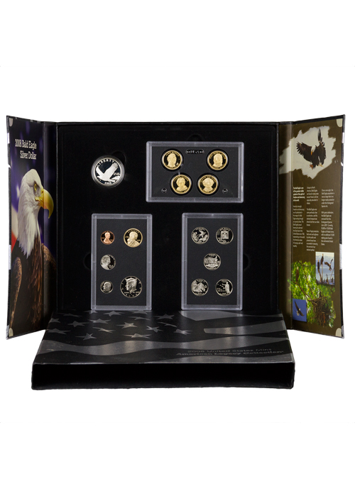 2008-S US Mint Legacy Proof Coin Set - GEM Proof (Original Government Packaging)