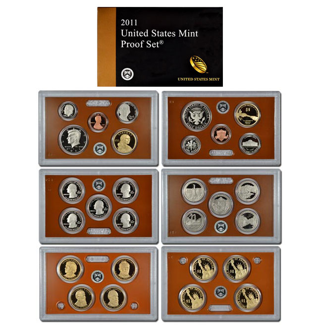 2011-S U.S. Proof Coin Set GEM Proof OGP